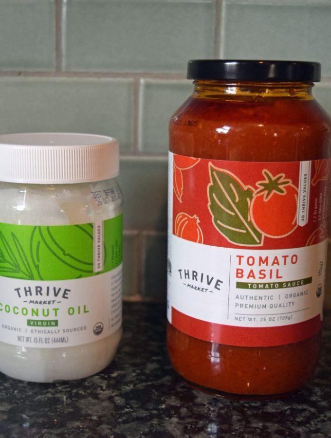 Thrive Market private label // www.mindfulmomma.com