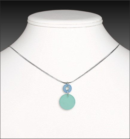 Recycled Glass Cirque Necklace // www.mindfulmomma.com