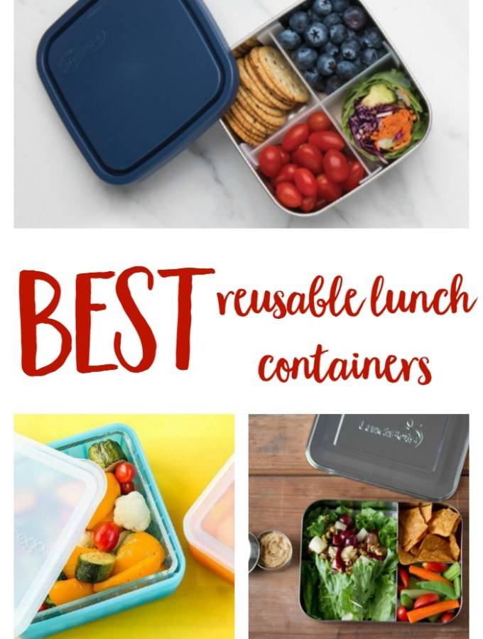Favorite Reusable Lunch Containers!