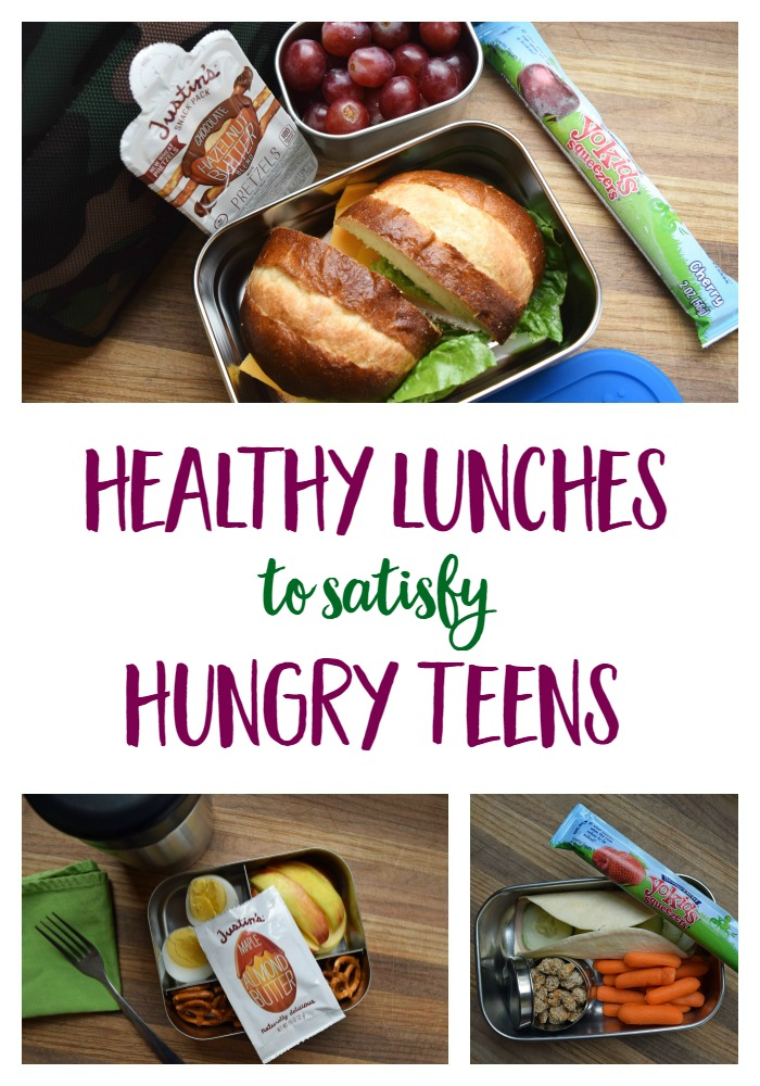 Creative, protein-packed, healthy school lunch ideas to satisfy even the hungriest of teenagers. #healthyfood #lunch #school via @MindfulMomma