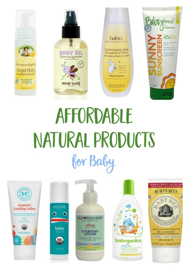 Affordable Natural Baby Products | mindfulmomma.com