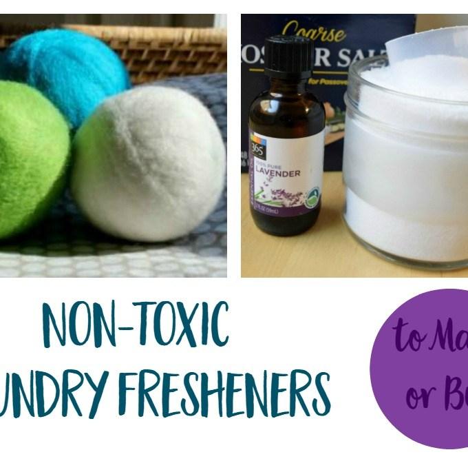 Non Toxic Laundry Fresheners