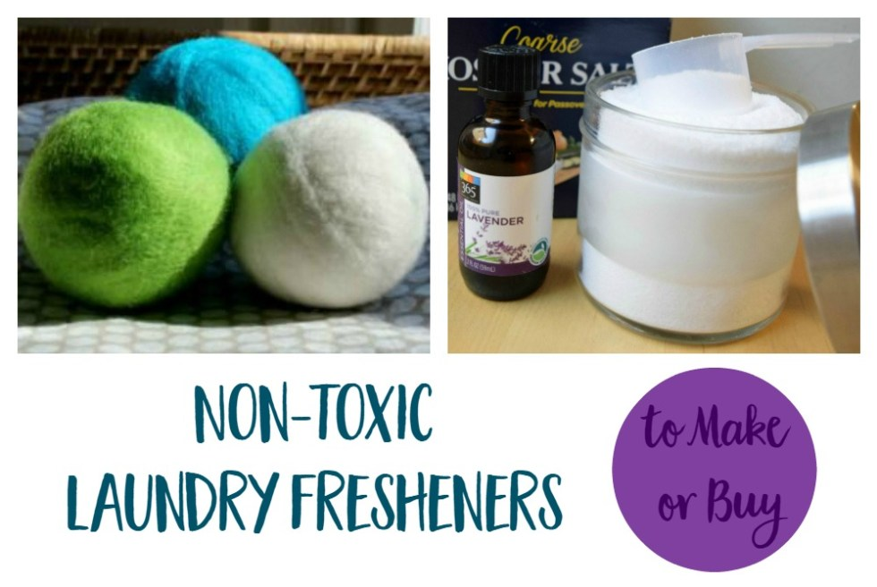 Non Toxic Laundry Freshener | Mindful Momma