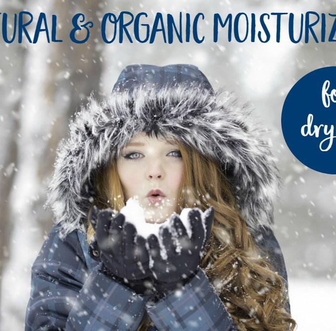 Natural & Organic Moisturizers That Will Save Your Face This Winter