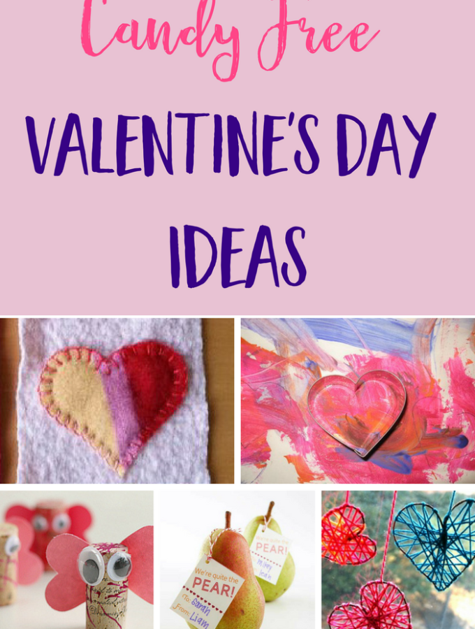 Candy Free Valentine's Day Ideas