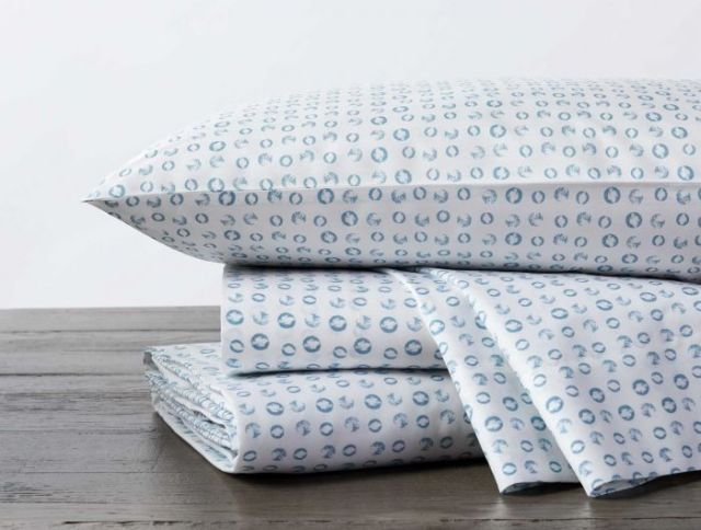Coyuchi organic cotton sheet set