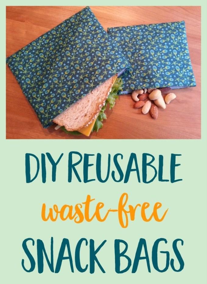Diy Snack Sandwich Bags Tutorial