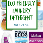 The Best Eco-Friendly Laundry Detergent For Your Family's Needs