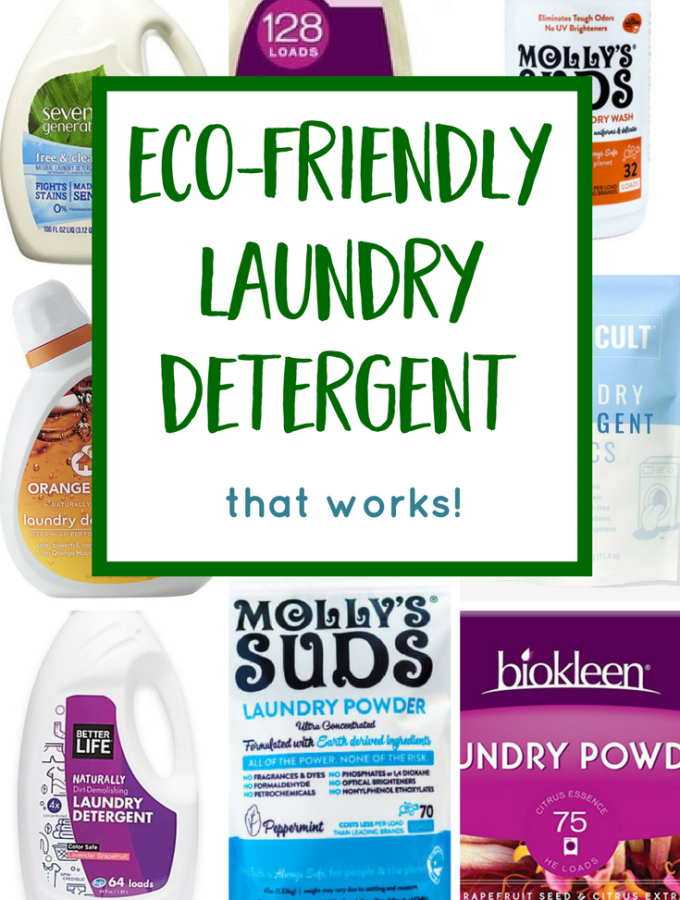 Eco Friendly Laundry Detergent