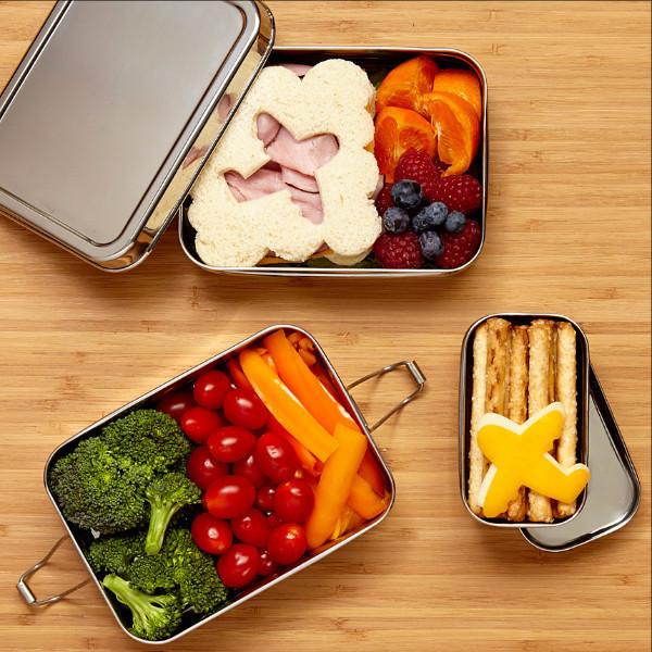 Eco Lunchbox Three-in-One and other reusable lunch containers