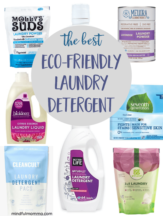 Eco-friendly laundry detergent