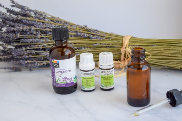 Essential oils used in homemade Facial Oil
