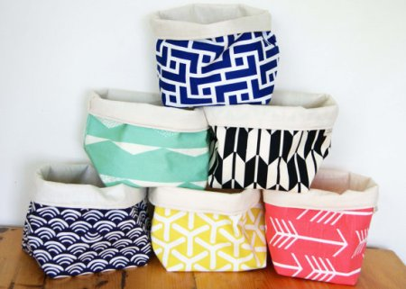 Fabric Storage Basket and other eco friendly gifts