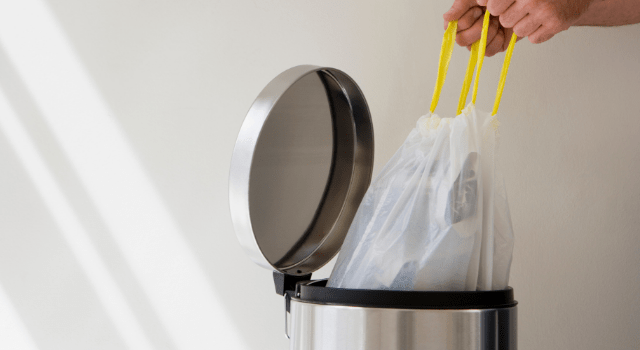 Garbage can - How to Reduce Waste at Home