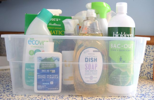 The Best Green Cleaning Brands under my sink.