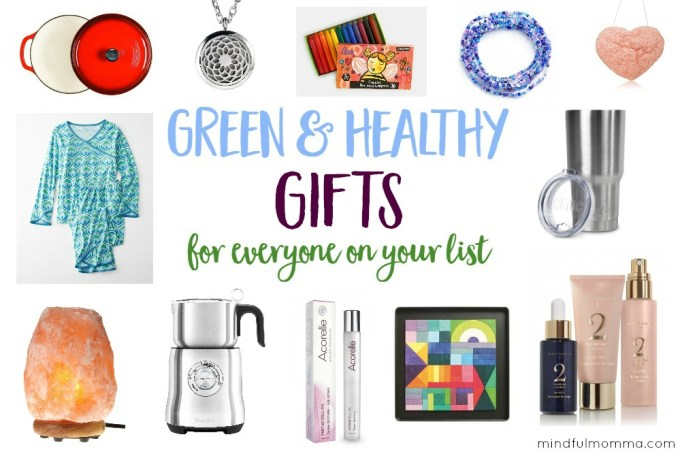 Green & Healthy Gifts for Everyone on Your List | gift guide