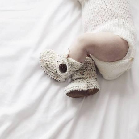 Handmade Baby Booties