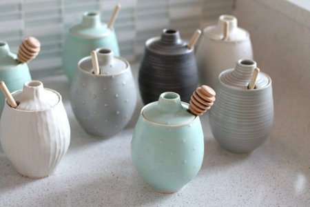 Handmade honey pot and other eco friendly gifts