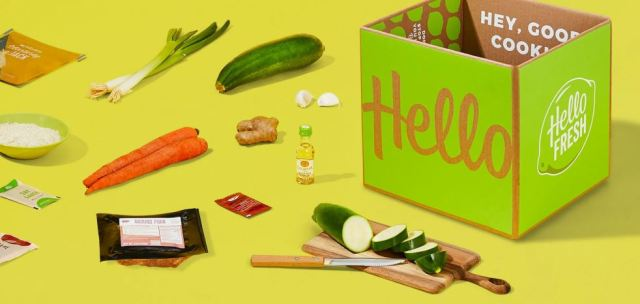 Hello Fresh Healthy Meal Delivery