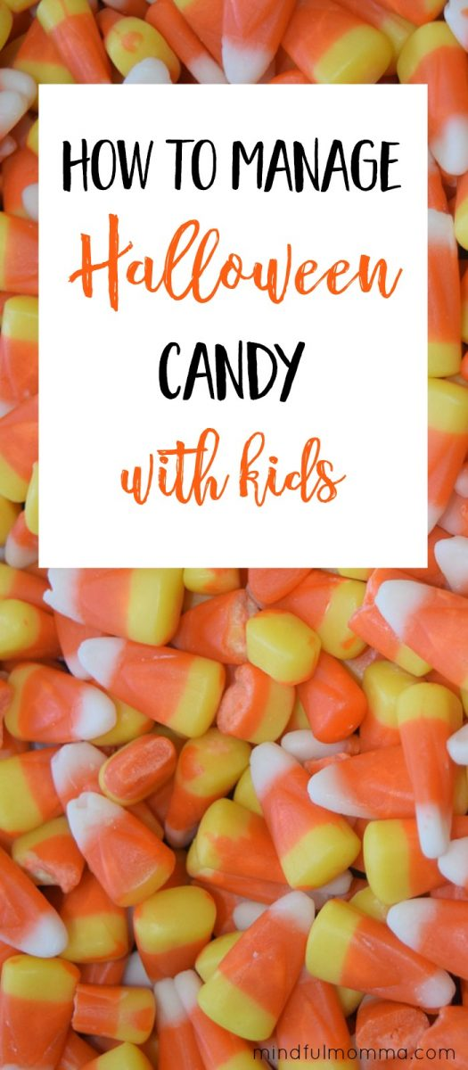 How to help kids manage Halloween candy consumption, so they can enjoy the fun of the holiday without completely ruining their health.  | Halloween treats | healthy kids | parenting #Halloween #health via @MindfulMomma