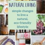 Natural Living - Simple Changes to Life a Natural, Eco-Friendly Lifestyle
