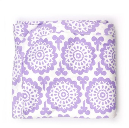 Organic Cotton Receiving Blanket and Other Eco Friendly Baby Gifts
