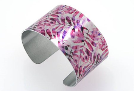Recycled Aluminum Cuff Bracelet and other eco friendly gifts