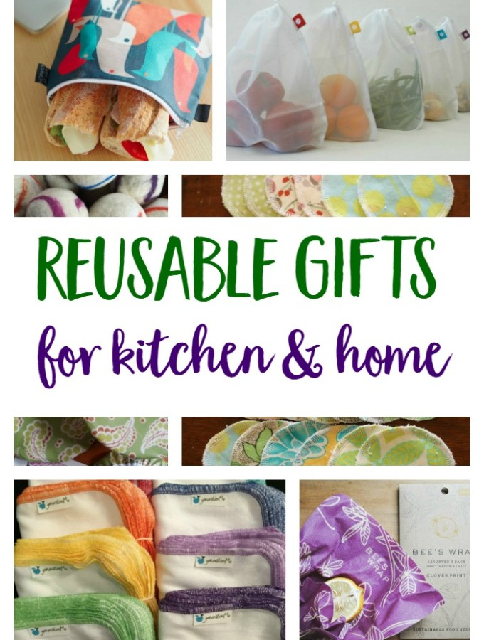 Practical, Reusable Gifts For Kitchen & Home