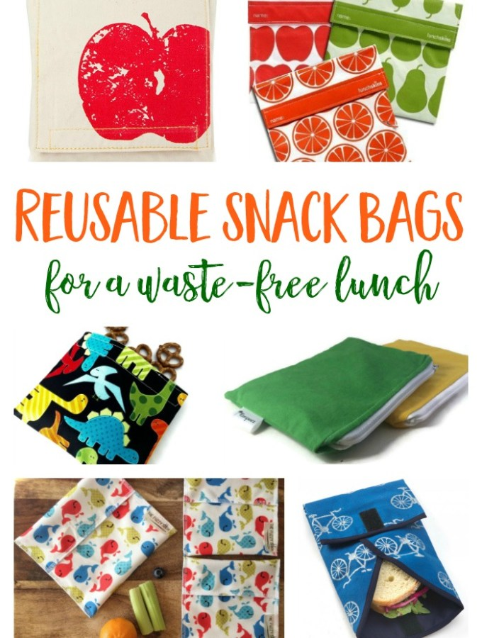 Coolest Reusable Snack Bags for a Waste-Free Lunch