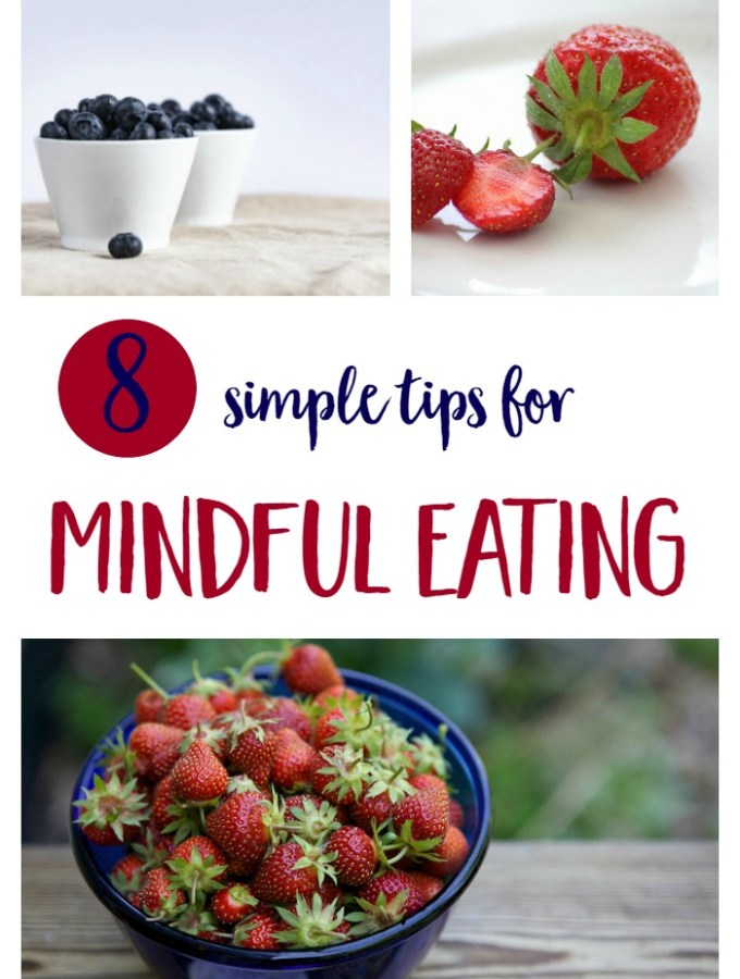 Mindful eating tips to help you pay attention and appreciate the food you eat - both as an everyday practice and to help reset after holiday indulgences. | healthy natural lifestyle | mindfulness