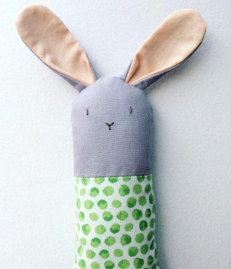 Soft Bunny Rattle