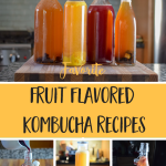 5 of the Best Fruit Flavored Kombucha Recipes + How to Get That Fizz!