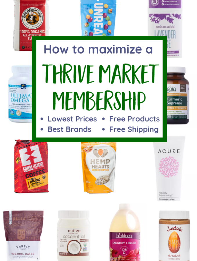 How to Maximize Your Thrive Market Membership