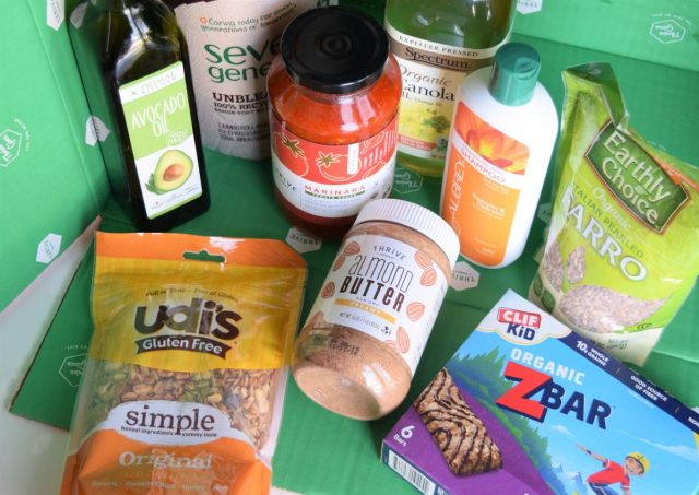 Food and natural products from Thrive Market