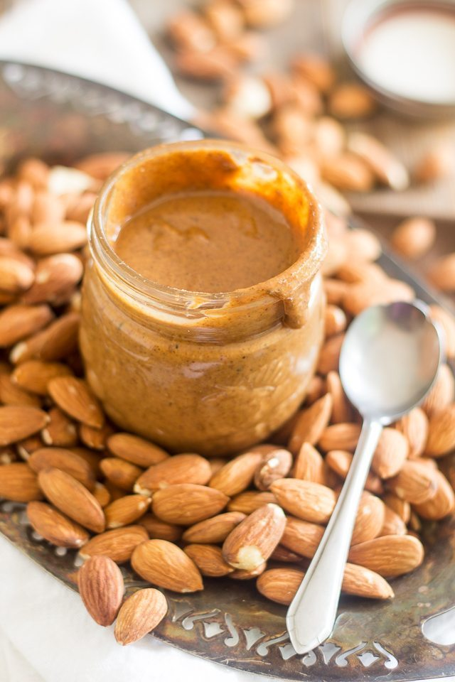 Toasted Almond Butter by The Healthy Foodie