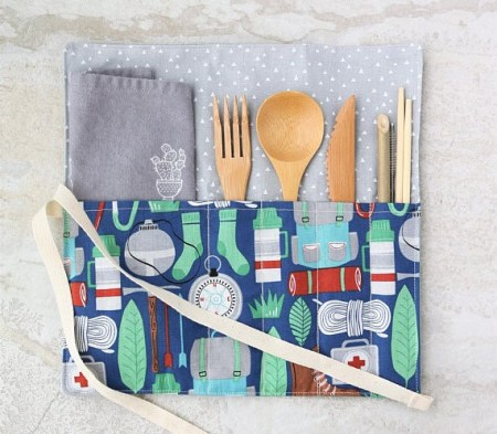Zero waste cutlery set