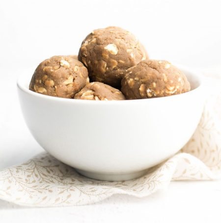 Easy Coffee Energy Bites by Amy's Healthy Baking