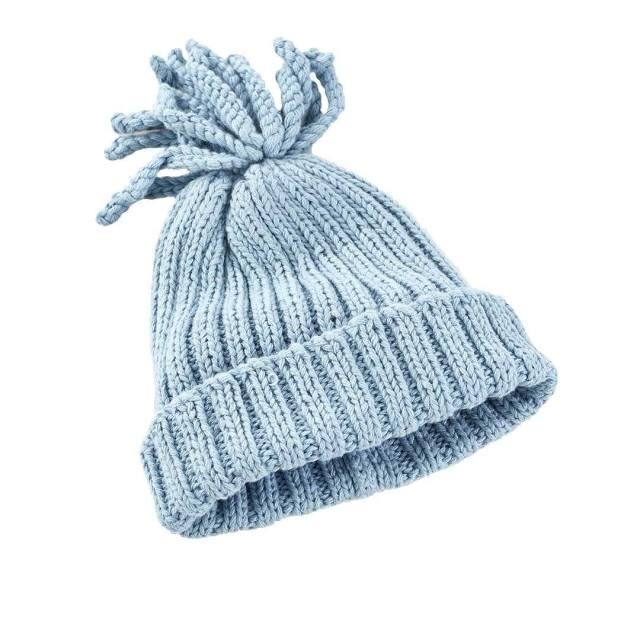 Organic cotton baby hat