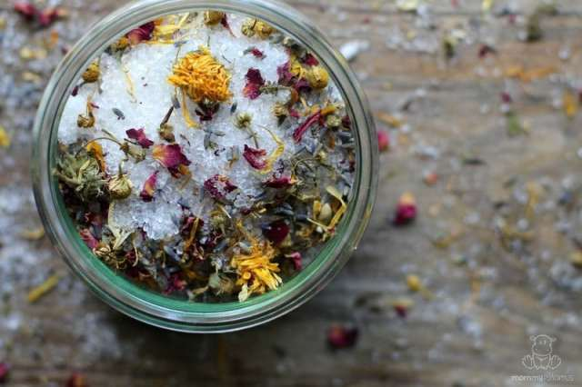 Relaxation Bath Salts from Mommypotamus
