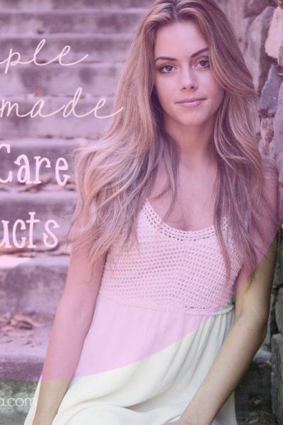 homemade body care products
