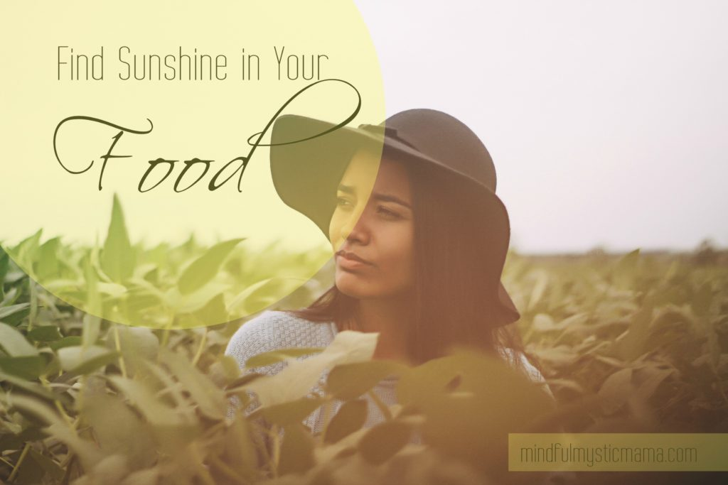 sunshine in your food