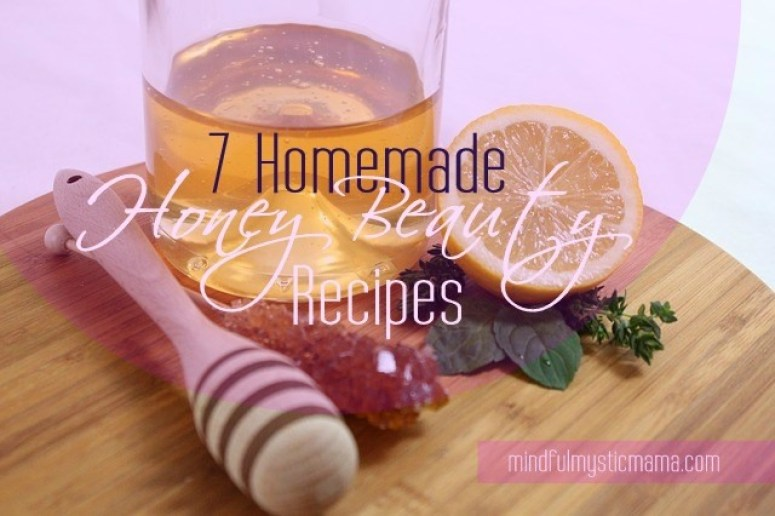 honey beauty recipes
