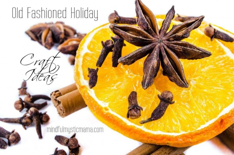 old fashioned holiday craft ideas
