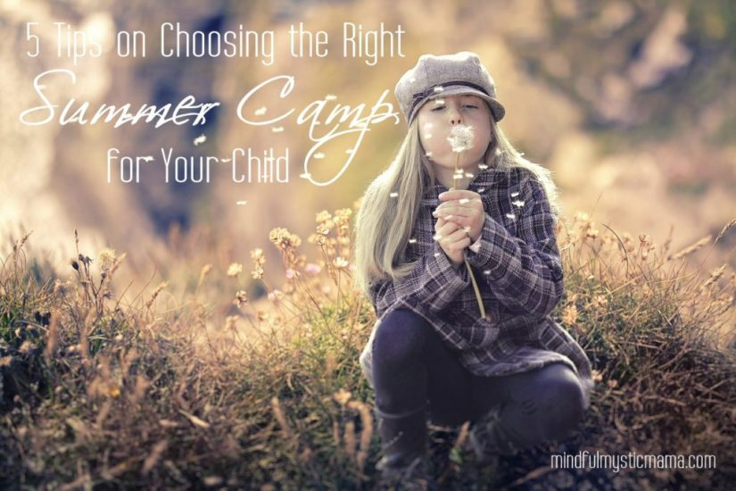tips on choosing summer camp
