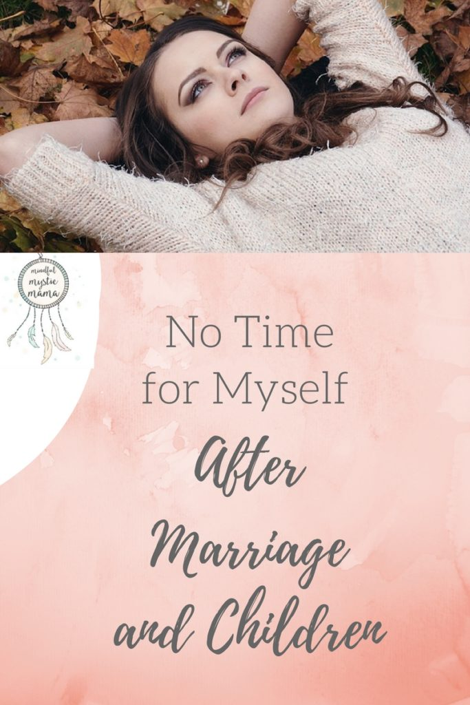 time for self after marriage