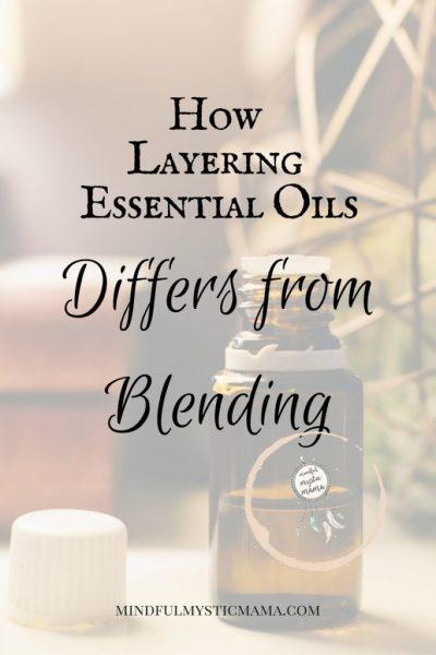 layering essential oils