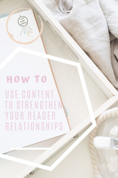 strengthen reader relationship