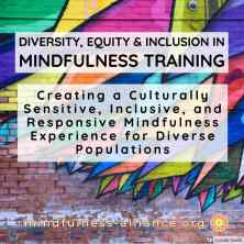 Diversity Equity Inclusion in Mindfulness