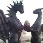 Dragon Sculpture Bulgaria