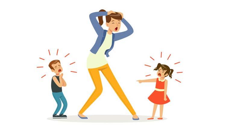 Det stresser mig at være mor og jeg skammer mig over det, skriver Mette